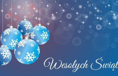 Wesołych Świąt oraz szczęśliwego Nowego Roku 2017!